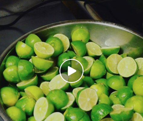 big bowl of limes